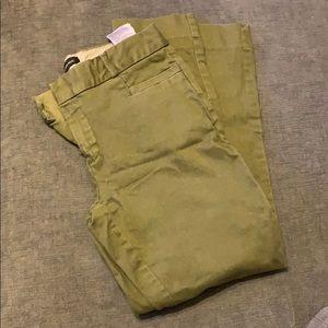 Olive 0P BR Sloan ankle pants